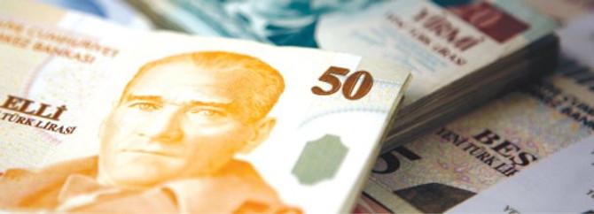 Emisyon hacmi 124,6 milyon lira arttı