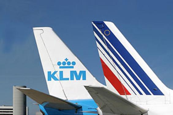 """Air France Uçağı havada parçalandı"""