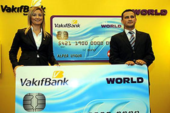 World imkanları Vakıfbank kredi kartında