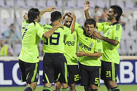 Fenerbahçe turu rahat geçti