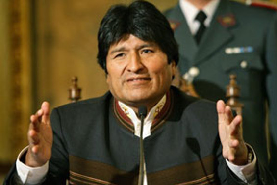 Bolivya'da referandumun galibi 'Morales'