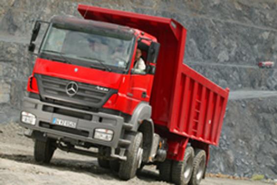 Mercedes-Benz: 2008'de hedef 17 bin kamyon