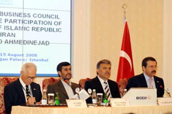 Çırağan'da Türk-İran İş Konseyi zirvesi