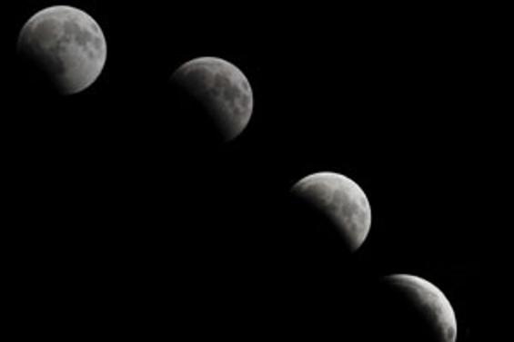 Parçalı ay tutulması Türkiye'den izlendi