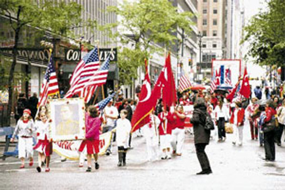 ABD'de Türk festivali düzenlendi