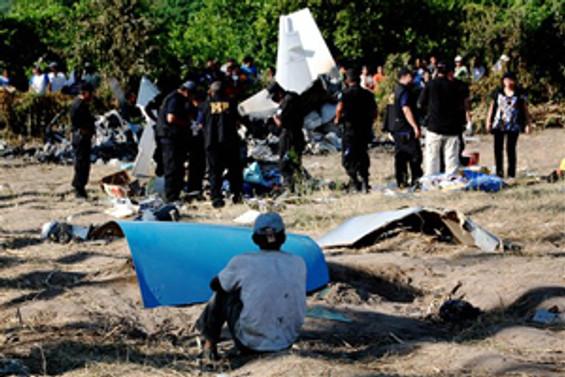 Sudan'da uçak düştü