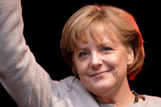 Angela Merkel yine dünyanın en güçlü kadını