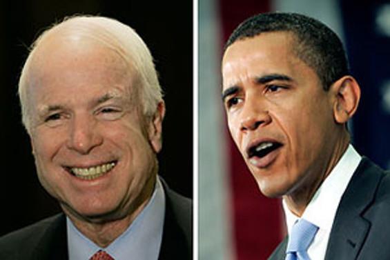 """Obama'nın """"boyu"""", McCain'in """"yaşı"""" merak edildi"""