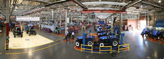 Traktörde üretim ve ihracat azaldı