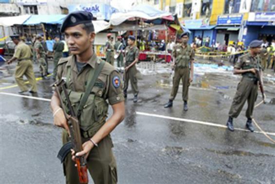 Sri Lanka'da bombalı saldırı: 45 yaralı