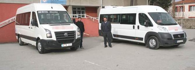 Okul servis araçlarına düzenleme