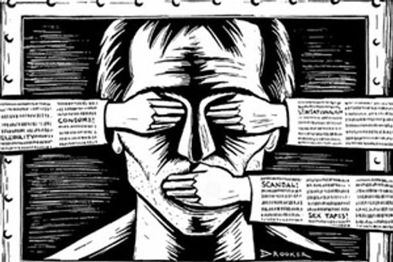 """Orta Afrika medyası """"sustu"""""""