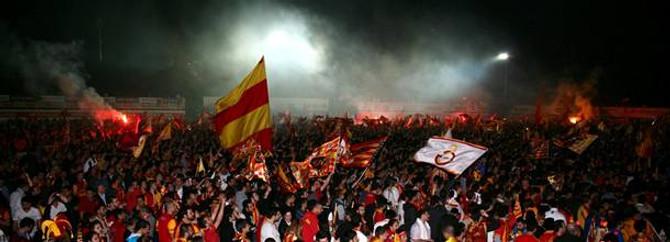 Galatasaray taraftarının Drogba heyecanı
