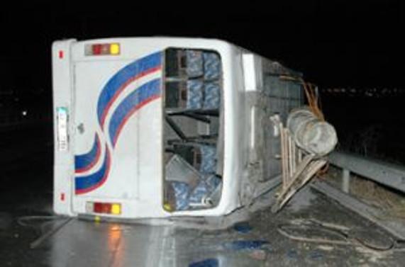 Mısır'da tur otobüsü devrildi, 2 Türk yaralandı