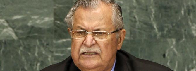 Talabani, hastaneye kaldırıldı