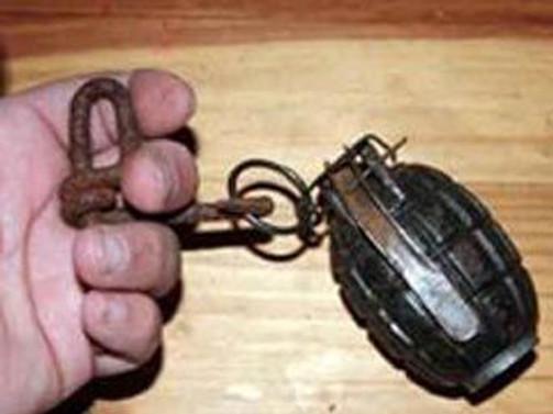 Tuzaklanmış iki el bombası imha edildi