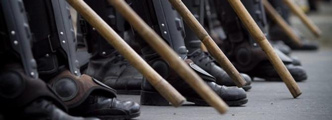 Sırbistan'da polisler ayaklandı