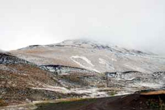 Erzurum ve Van'a yılın ilk karı yağdı