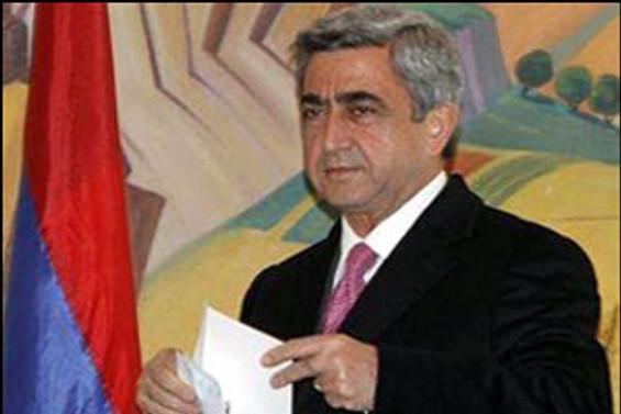 Sarkisyan, müzakereleri diaspora ile görüşecek