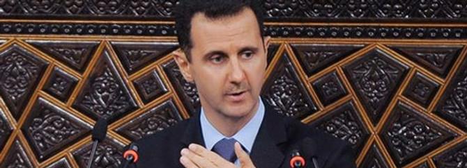 """Esad """"kimyasal silah"""" iddialarını reddetti"""