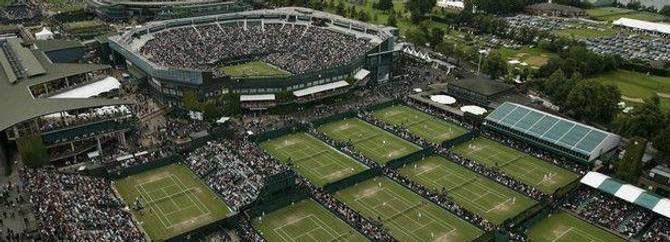 Wimbledon 2012'de kar rekoru kırıldı