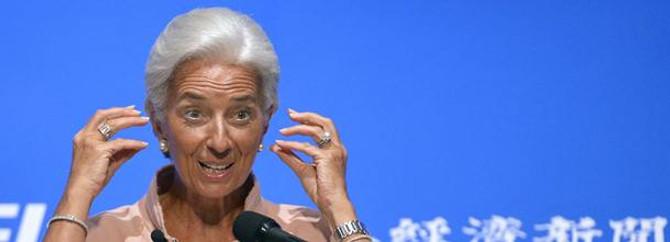 IMF Başkanı Lagarde'ın evini aradılar