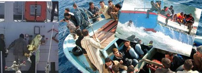 Kaçak göçmen taşıyan tekne battı: 12 kayıp