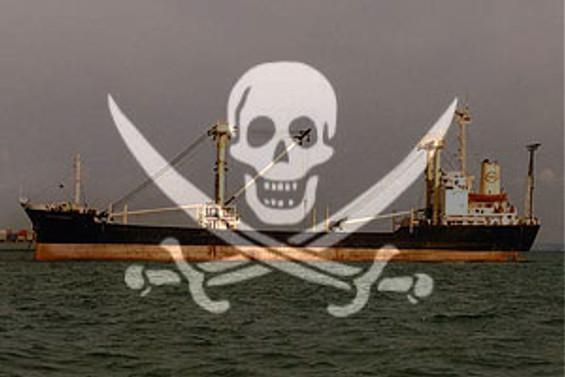 Korsanlar Yunan gemisini bıraktı
