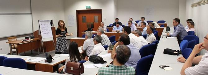 KÜ'den Sarıyer Belediyesi'ne liderlik ve iletişim eğitimi