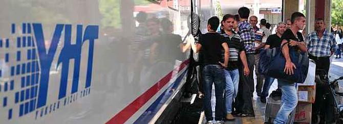 Hızlı Tren'in 3. hattı açılıyor