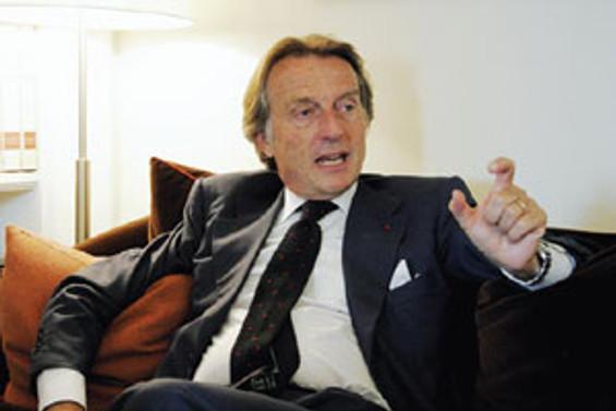 Ferrari'nin başkanı televizyonu parçaladı