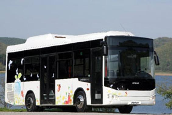 Otokar'ın ilk doğalgazlı otobüsü görücüye çıktı
