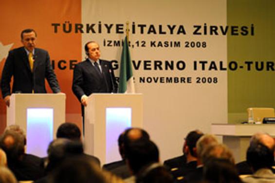 Türkiye-İtalya zirvesi sona erdi