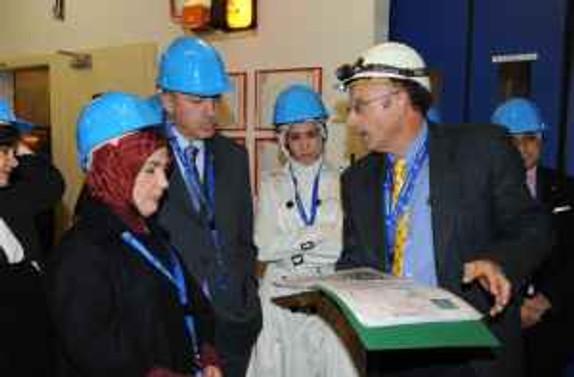 Erdoğan, CERN'i ziyaret etti