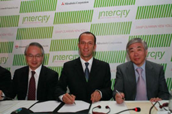 Mitsubishi ile Intercity ortak oldu, 3 milyar $ yatırım hedefi kondu