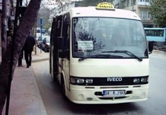 'Ayakta yolcu' cezası 50 TL