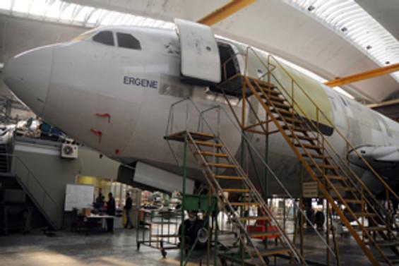 THY'nin yeni kargo uçağı 'Ergene' İstanbul'da