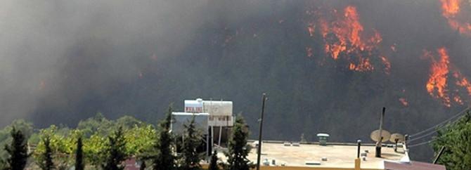 Kaliforniya'daki yangın evleri tehdit ediyor