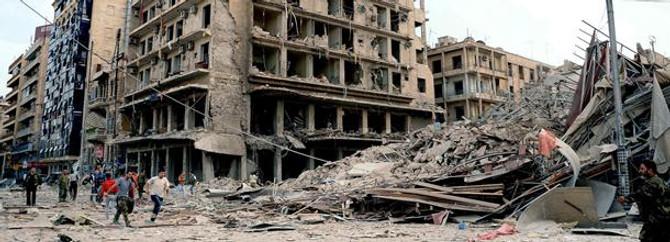 """Halep """"taş devri""""ne döndü"""