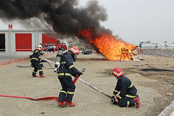 Avcılar'da tekstil fabrikasındaki yangın