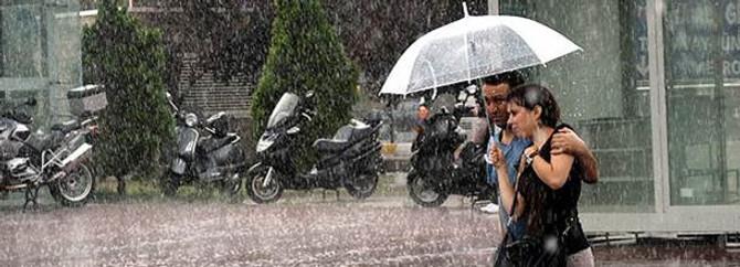 Marmara'ya sağanak uyarısı