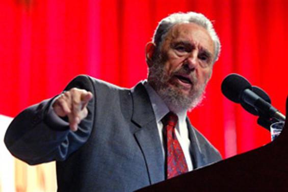 Fidel Castro, 'domuz gribi' için Meksika, ABD ve Kanada'yı suçladı