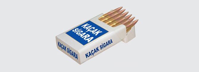 200 bin paket kaçak sigaraya el konuldu