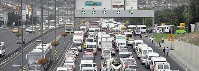 Trafikteki motorlu taşıtların yüzde 18,3'ü sigortasız
