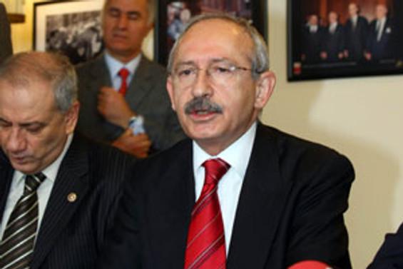 CHP lideri taburcu oldu