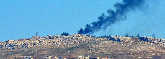 Esad'ın ordusu Türkiye sınırını bombaladı