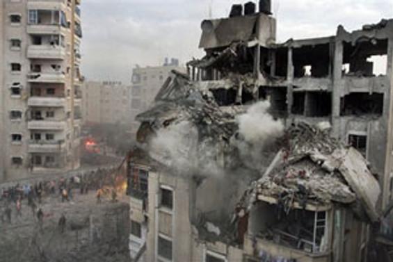İsrail, Gazze'ye havadan saldırdı