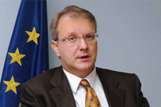 Olli Rehn: Ortak çıkarlarımız var, Türkiyesiz olmaz