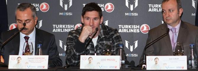 THY'nin yeni marka elçisi Messi