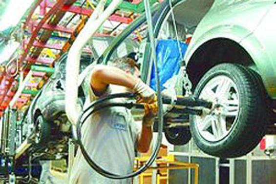 Otomotiv üretimi yüzde 38 azaldı